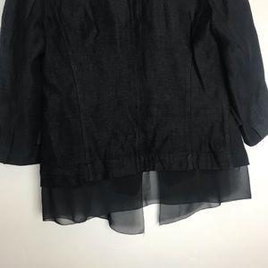 Simply Vera Vera Wang Jackets & Coats - Simply Vera by Vera Wang Lagenlook blazer
